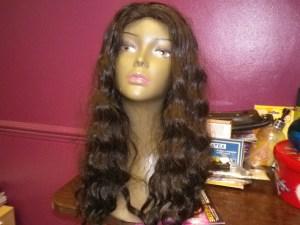 100% HUMAN HAIR WIGS (6)